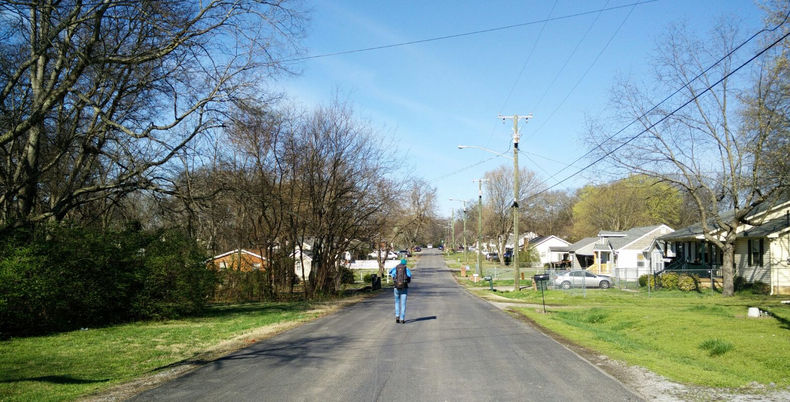 Allans Straße in Nashville