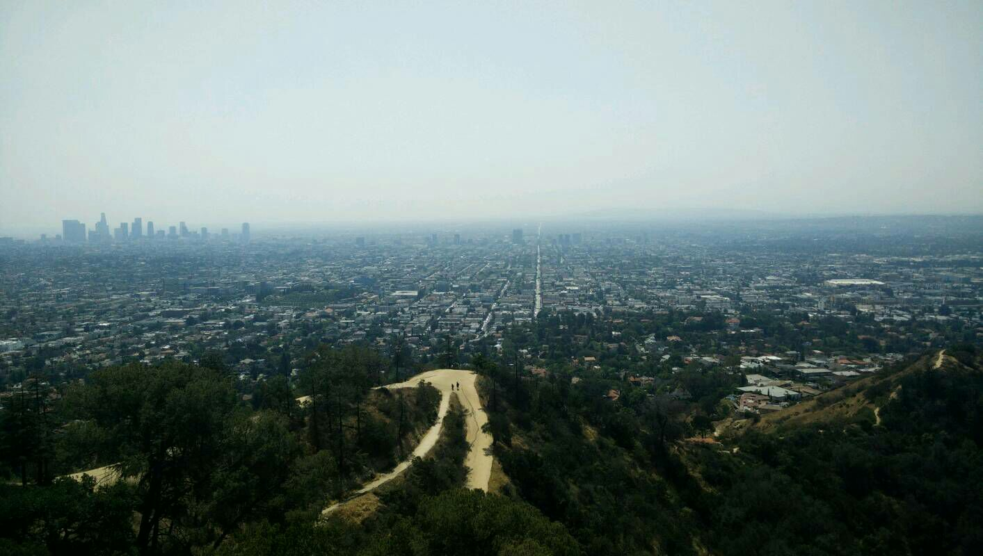 Los Angeles von den Hollywood Hills
