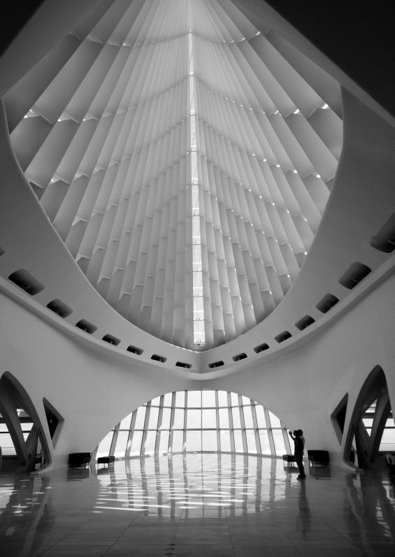 Beeindruckende Architektur: das Milwaukee Art Museum