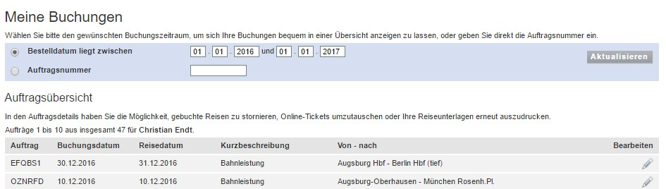 wecker ticket augsburg 2017